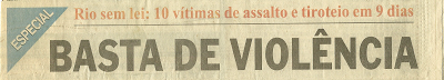 1998 Manchete 9 de Setembro